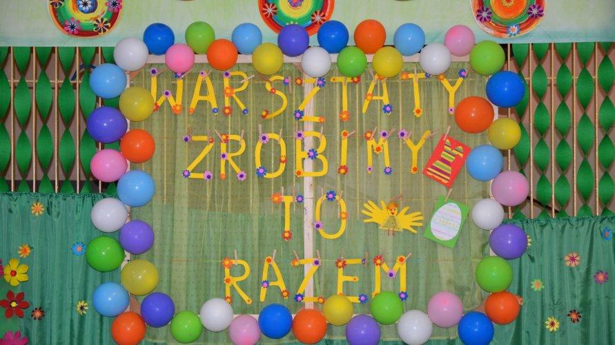 """Wielkanocne warsztaty ,,ZROBIMY TO RAZEM"""" w przedszkolu publicznym w Ożarowie Kliknięcie w obrazek spowoduje wyświetlenie jego powiększenia"""