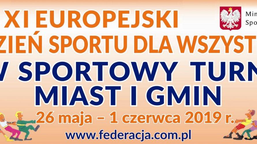 XI Europejski Tydzień Sportu dla Wszystkich Kliknięcie w obrazek spowoduje wyświetlenie jego powiększenia